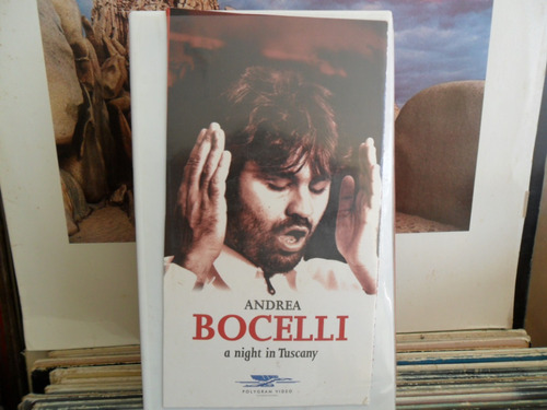 Vhs - Andrea Bocelli :a Night In Tuscany