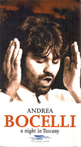 Vhs - Andrea Bocelli - A Night In Tuscany