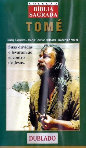 Vhs - Coleção Bíblia Sagrada Tomé - Ricky Tognazzi