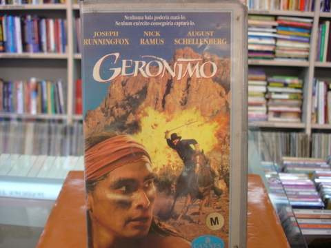 Vhs - Geronimo - 1993 - Legendado