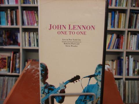 Vhs - John Lennon - One To One - Raríssimo!!!