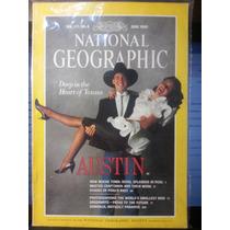 Revista National Geographic Jun/90 Em Inglês - Frete Grátis