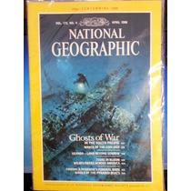 Revista National Geographic Apr/88 Em Inglês - Frete Grátis