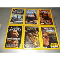Lote Com 19 Revistas National Geographic Em Portugues
