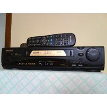 Videocassete K7 Philips Vr-755 Stereo 6 Cabeças, Raridade !