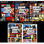 Gta Liberty City Stories Para Playstation 2 (kit 5 Jogos Ps2