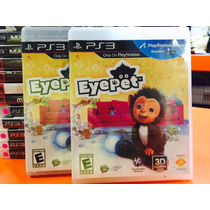 Jogo Eye Pet Playstation 3, Aceita Kit Move, Original