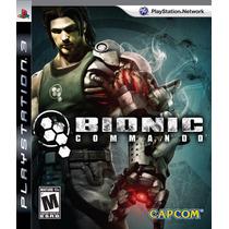 Bionic Commando Ps3 Capcom
