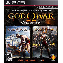 Jogo God Of War Collection Midia Fisica Novo Lacrado