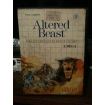 Raro Jogo Do Master System Altered Beast