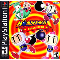 Bomberman Collections Jogo Playstation 1 - Psx Frete Gratis.