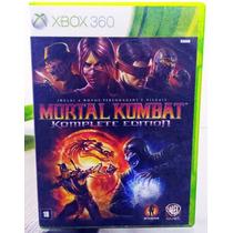 Mortal Kombat Komplete Edition -xbox 360 - Usado (original)