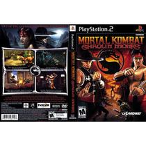 Mortal Kombat Shaolim Monksps2