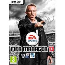Jogo Fifa Manager 13 / 2013 - Pc Dvd Original Lacrado