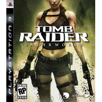 Ps3 - Tomb Raider Underworld ! Lacrado! Original!