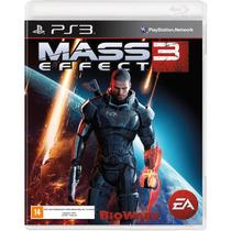 Jogo Ps3 - Mass Effect 3 (lacrado/frete: R$5 Por Depósito)