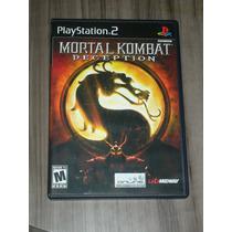 Mortal Kombat Deception ( Original Ps2 )
