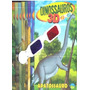 * Game Pc Dinossauros 3d Com Oculos 3d + 8 Livros + Cd