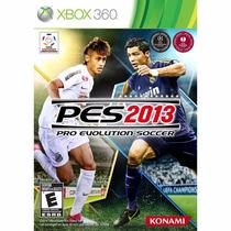 Pes 2013 Pro Evolution Soccer | Mídia Física Original | Xbox