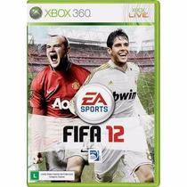 Game Fifa Soccer 12 - Xbox 360 Jogo 100% Original Ntsc