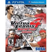 Virtua Tennis 4 World Tour Edition Ps Vita Rcr Games
