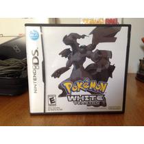 Pokemon White Americano Completo Nds 3ds 2ds Original 100%