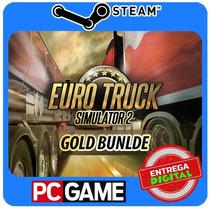 Euro Truck Simulator 2 - Gold Bundle Steam Cd-key Global
