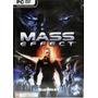 Game - Pc Dvd Jogo Mass Effect - G0060
