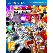 Dragon Ball Z: Battle Of Z Ps Vita! Lançamento!!!!