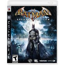 Batman Arkam Asylum - Jogo Ps3 (seminovo)