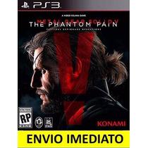 Jogo Metal Gear Solid V 5 The Phantom Pain Ps3 Psn Promoção