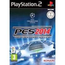 Pro Evolution Soccer 2014 Pes Ps2 Patch Com Capa E Impressão
