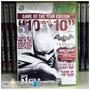 Batman: Arkham City X360 Frete R$6,50 Br Botafogo Rj