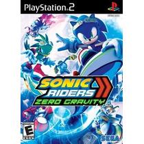 Sonic Riders Zero Gravity Ps2 Patch Com Capa E Impressão