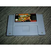 Snes Super Nintendo Donkey Kong Country Original