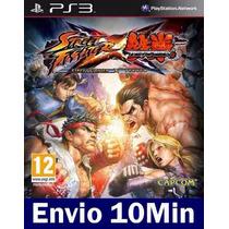 Street Fighter X Tekken Ps3 Código Psn
