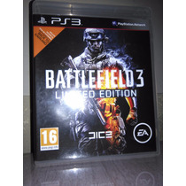 Battlefield 3 Limited Edition - Midia Física Ps3