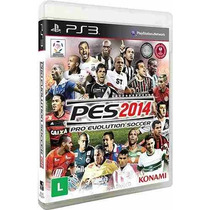 Ps3 Pes 14 - Pes 2014 - Pro Evolution Soccer 14 - Portugues