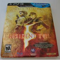 Jogo Resident Evil 5 Gold Edition Ps3 Novo & Lacrado