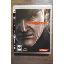 Metal Gear Solid 4 - Jogo Original Do Ps3