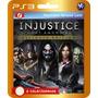 Promoção! Injustice Ultimate Edition (códigos Ps3)