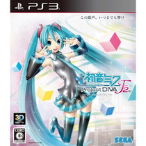 Hatsune Miku -project Diva- F 2nd Ps3 Inglês