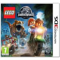 Lego Jurassic World Nintendo 3ds - Usa, Lacrado E Frete R$10