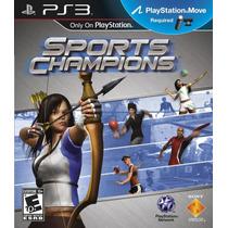 Sports Champions Ps3 Jogo Seminovo Original Perfeito