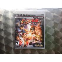 Jogo Ps3 Street Fighter X Tekken
