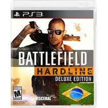 Battlefield Hardline Ps3 Ed Gold Dublado Promoção Psn Br