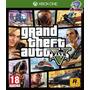 Jogo Xbox One - Gta V - Novo