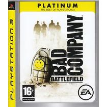 Jogo Novo Lacrado Battlefield: Bad Company - Playstation 3