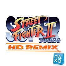 Super Street Fighter 2 Turbo Hd Remix - Original Ps3