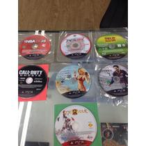 Lote Jogos Ps3 Gta 5 Fifa Call Of Duty Ghosts God Of War 3 +